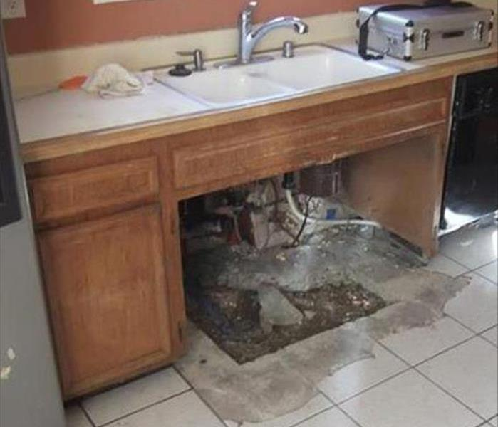 Bristol Kitchen Meets Up with Water and Mold Problems Before